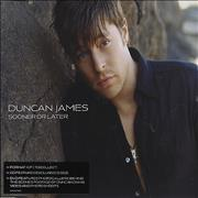 Click here for more info about 'Duncan James - Sooner Or Later'