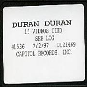 Click here for more info about 'Duran Duran - 15 Videos Tied'