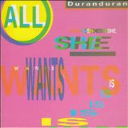 Click here for more info about 'Duran Duran - All She Wants Is'