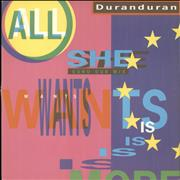 Click here for more info about 'Duran Duran - All She Wants'