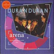Click here for more info about 'Duran Duran - Arena + Stickered Sleeve'