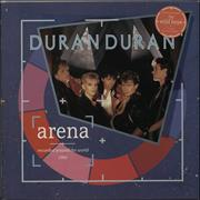 Click here for more info about 'Duran Duran - Arena - stickered p/s'
