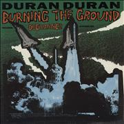 "Duran Duran Burning The Ground UK 12"" vinyl"