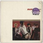 Duran Duran Duran Duran - shrink UK vinyl LP
