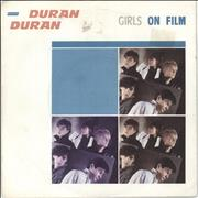 Click here for more info about 'Duran Duran - Girls On Film - P/S'