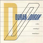 Click here for more info about 'Duran Duran - Is There Something I Should Know?'