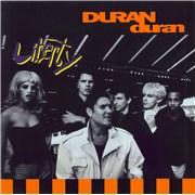 Duran Duran Liberty UK vinyl LP