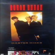 Click here for more info about 'Duran Duran - Master Mixes - Brazilian Promo Poster'