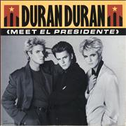 Click here for more info about 'Duran Duran - Meet El Presidente - Poster Sleeve'