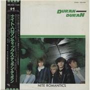 Click here for more info about 'Duran Duran - Nite Romantics + Obi - EX'