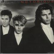 Duran Duran Notorious - Sealed USA vinyl LP
