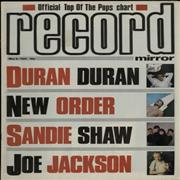 Click here for more info about 'Duran Duran - Record Mirror'