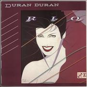 Duran Duran Rio - 1st UK vinyl LP