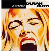 """Duran Duran Serious - Gatefold UK 12"""" vinyl"""