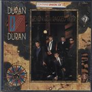 Duran Duran Seven And The Ragged Tiger - Promo Stamped + Sealed USA vinyl LP