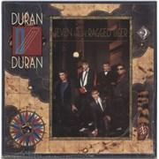 Duran Duran Seven And The Ragged Tiger - shrink UK vinyl LP