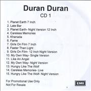 Click here for more info about 'Duran Duran - The Singles Box '81-'85'