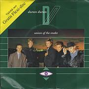 Click here for more info about 'Duran Duran - Union Of The Snake + Flexi'