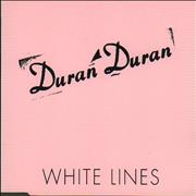 Click here for more info about 'Duran Duran - White Lines - Export'
