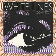 Click here for more info about 'Duran Duran - White Lines'