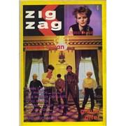 Duran Duran Zig Zag Magazine #114 UK magazine