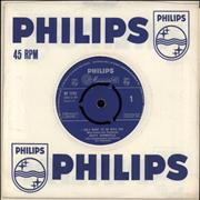 """Dusty Springfield I Only Want To Be With You - 2nd UK 7"""" vinyl"""