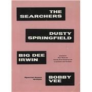 Dusty Springfield UK Tour UK tour programme