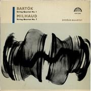 Click here for more info about 'Dvorák Quartet - Bartók: String Quartet No. 1 / Milhaud: String Quartet No. 7'