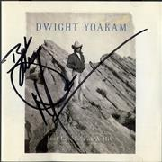 Click here for more info about 'Dwight Yoakam - Just Lookin' For A Hit - Autographed'