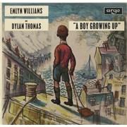 Dylan Thomas A Boy Growing Up UK vinyl LP