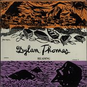 Dylan Thomas Reading Volume 3 UK vinyl LP