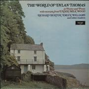 Dylan Thomas The World Of Dylan Thomas (In Poetry And Prose With Excerpts From Under Milkwood) UK vinyl LP