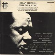Dylan Thomas Under Milk Wood - Ex UK 2-LP vinyl set