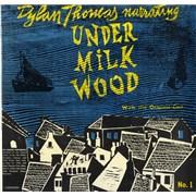Dylan Thomas Under Milk Wood No. 1 & 2 UK 2-LP vinyl set