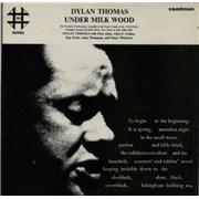 Dylan Thomas Under Milk Wood UK 2-LP vinyl set