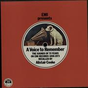 Click here for more info about 'EMI Records - A Voice To Remember'