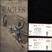 Click here for more info about 'History Of The Eagles + Ticket Stub'