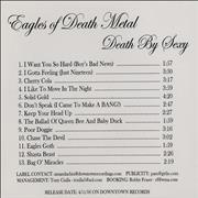 Click here for more info about 'Eagles Of Death Metal - Death By Sexy'