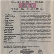 Click here for more info about 'Eagles Of Death Metal - Peace Love Death Metal'