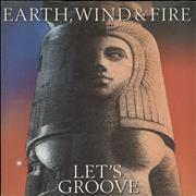 Click here for more info about 'Earth Wind & Fire - Lets Groove - A Label'