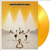 Click here for more info about 'Earth Wind & Fire - Spirit - Flaming Orange Marbled Vinyl'