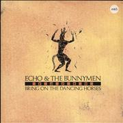 Click here for more info about 'Echo & The Bunnymen - Bring On The Dancing Horses'