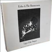 Click here for more info about 'Echo & The Bunnymen - Lips Like Sugar - Box'