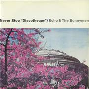 Click here for more info about 'Echo & The Bunnymen - Never Stop 'Discotheque''