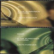 Click here for more info about 'Echo & The Bunnymen - Nothing Lasts Forever - CD1 & 2'
