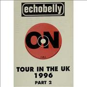 Click here for more info about 'Echobelly - Tour In The UK Part 2 - Tour Itinerary'