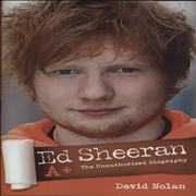 Click here for more info about 'Ed Sheeran - A+ - The Unauthorised Biography'