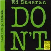 Click here for more info about 'Ed Sheeran - Don't + Magnet - Sealed'