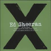 Click here for more info about 'Ed Sheeran - X - Stickered Shrinkwrap'