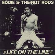 Click here for more info about 'Eddie And The Hot Rods - Life On The Line'